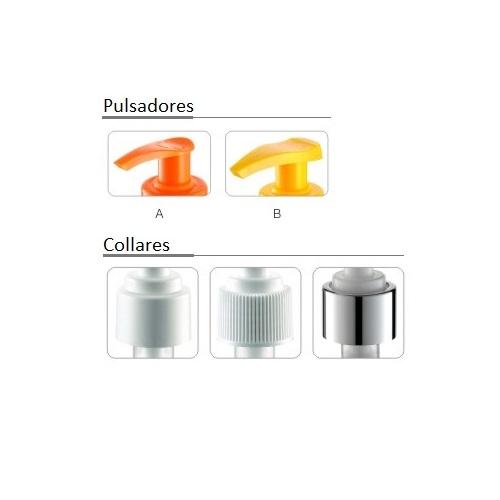 opciones pulsadores y collares FL302