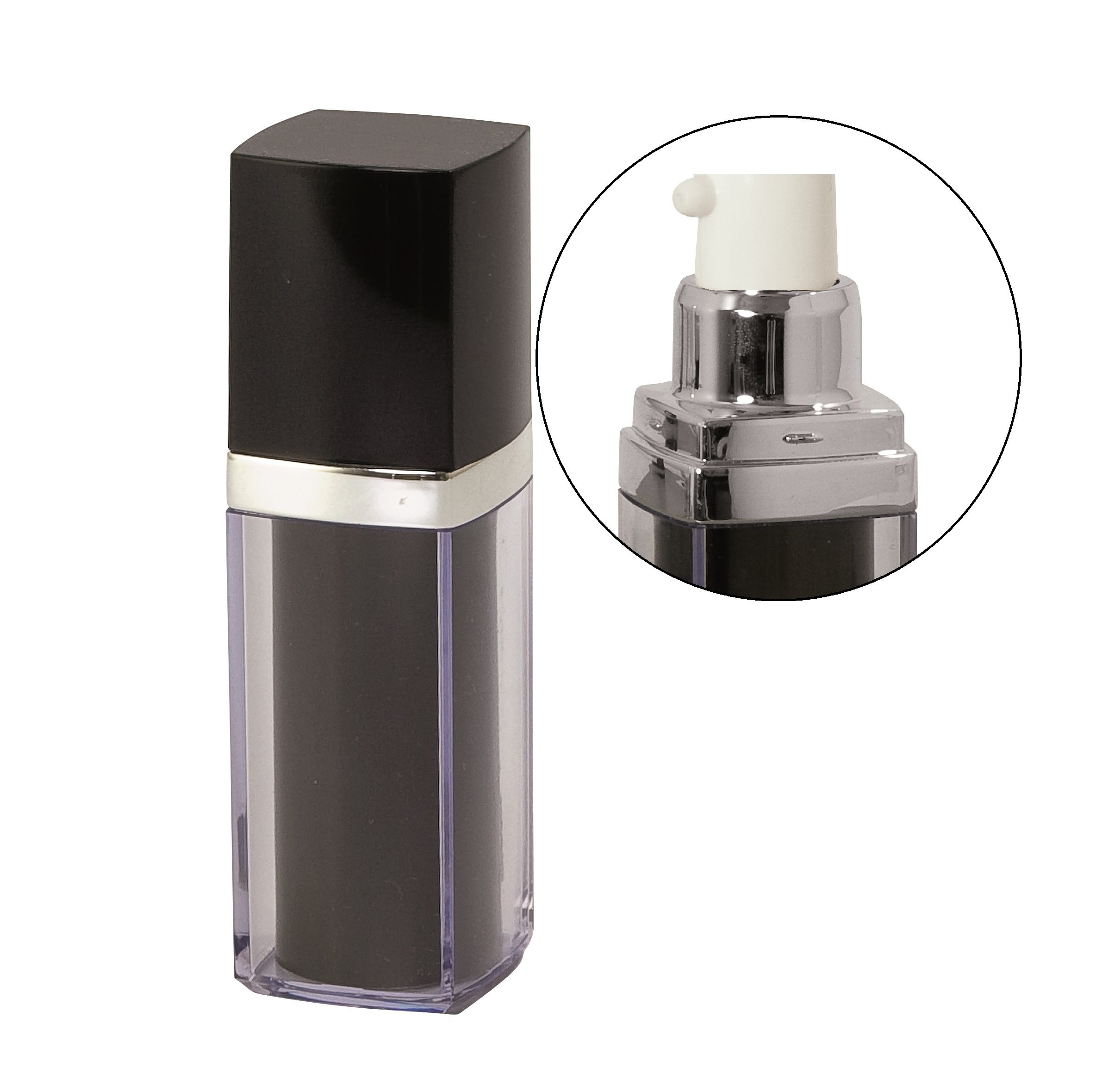 Envase Airless Serie H 15ml AR15H1BY