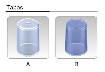 Opciones tapas bomba pulverizadora FS608