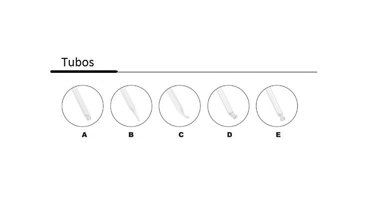 opciones tubos