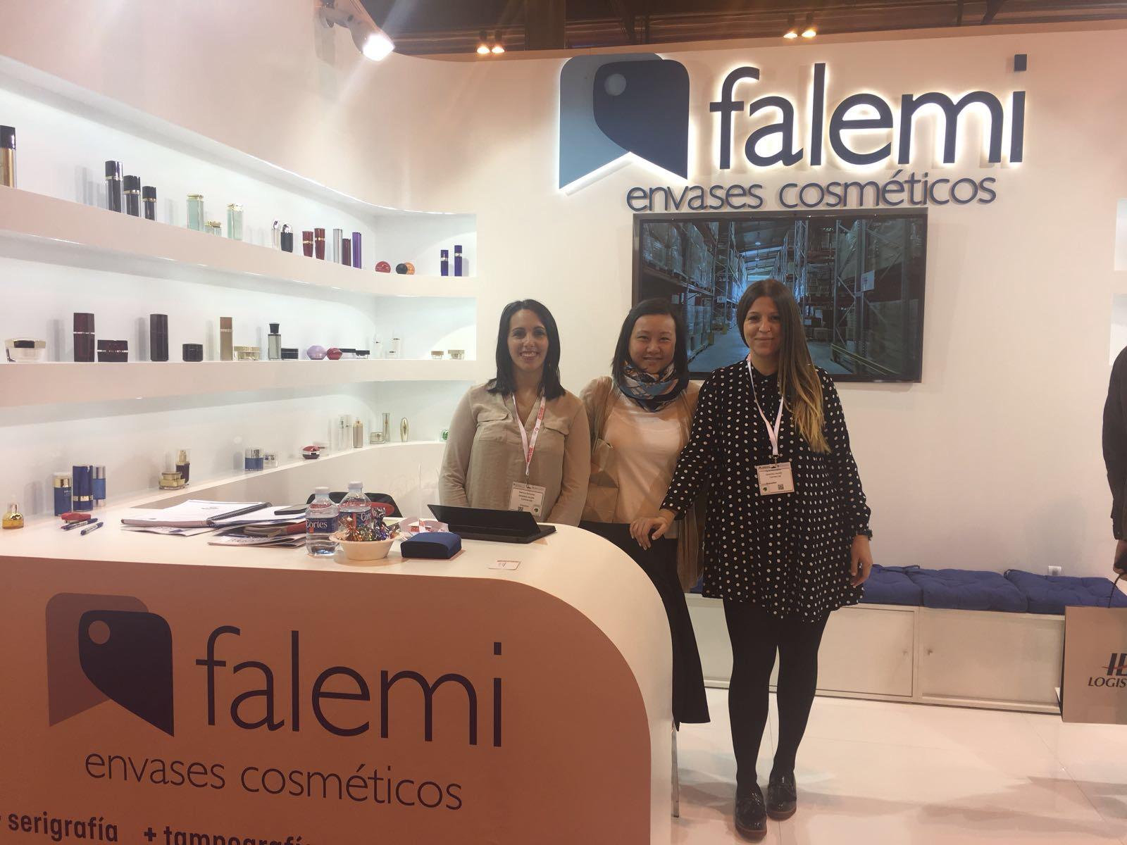 Envases Falemi. Envases cosméticos. Expositores Empack Madrid 2017