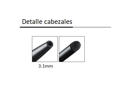 Detalle cabezal FM1161