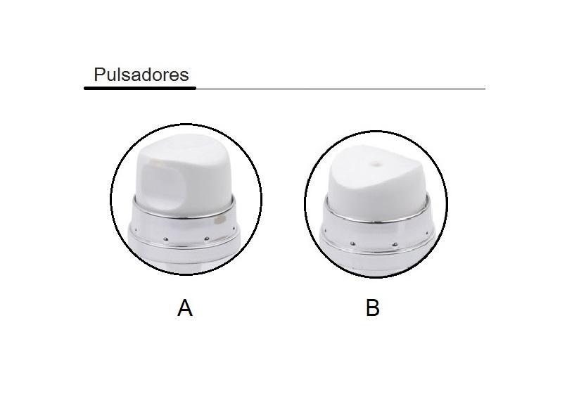 Opciones pulsadores airless AR901