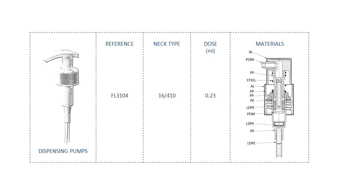 Dispensing Pump FL3104 16/410
