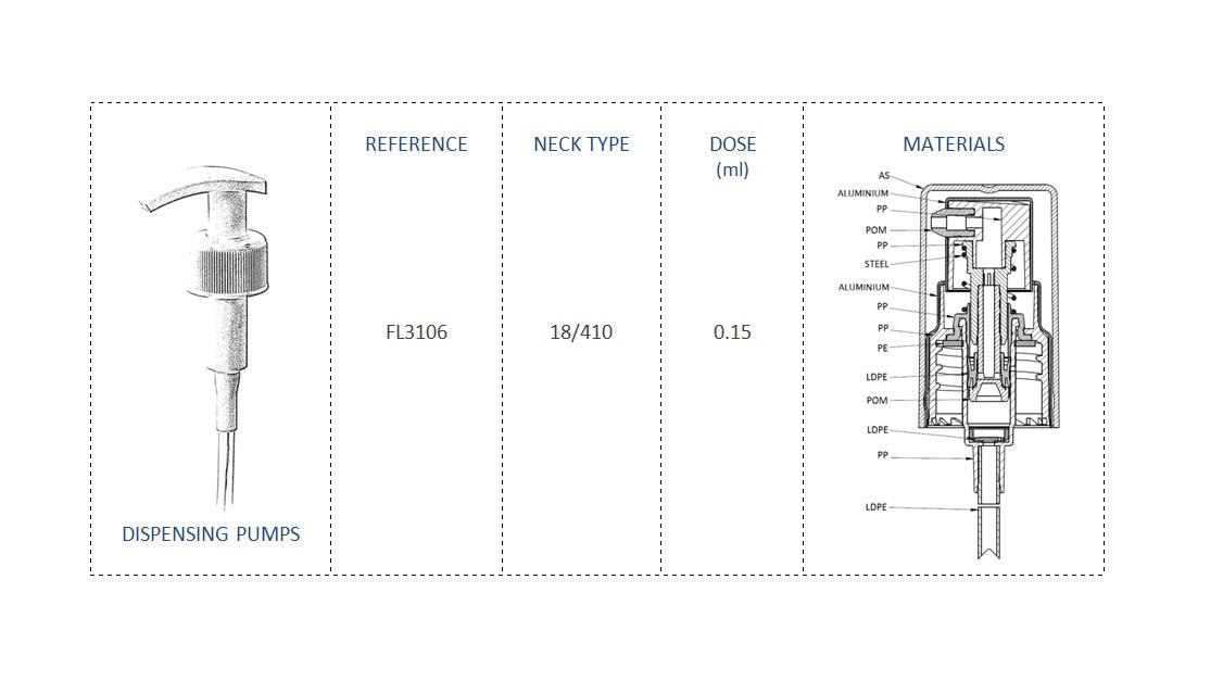 Dispensing Pump FL3106 18/410