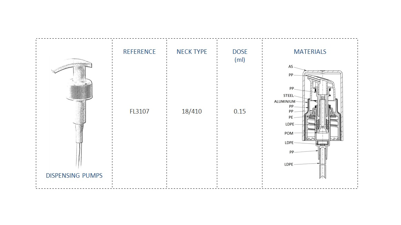 Dispensing Pump FL3107 18/410
