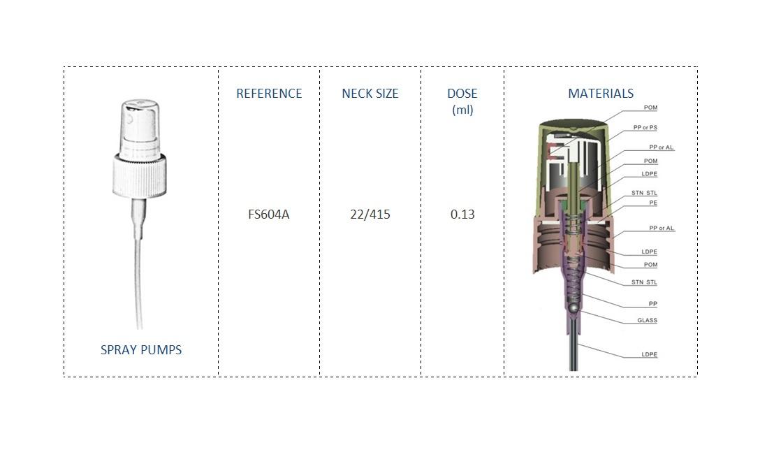 Spray pump FS604A 22-415