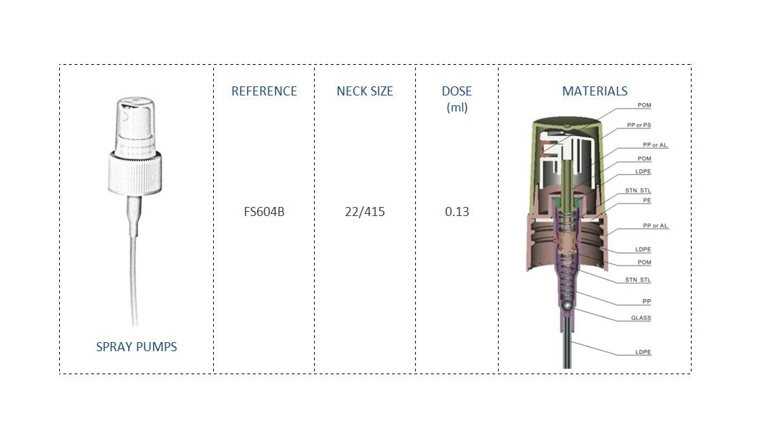 Spray pump FS604B 22-415