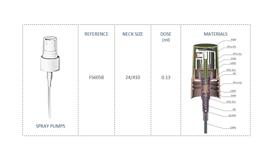 Spray pump FS605B 24-410