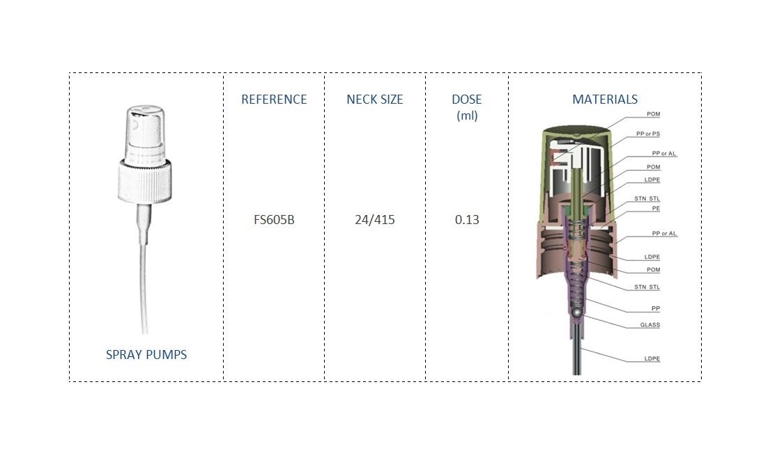 Spray Pump FS605B 24-415