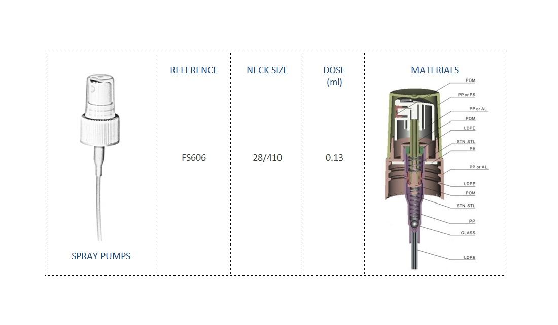 Spray pump FS606 28-410
