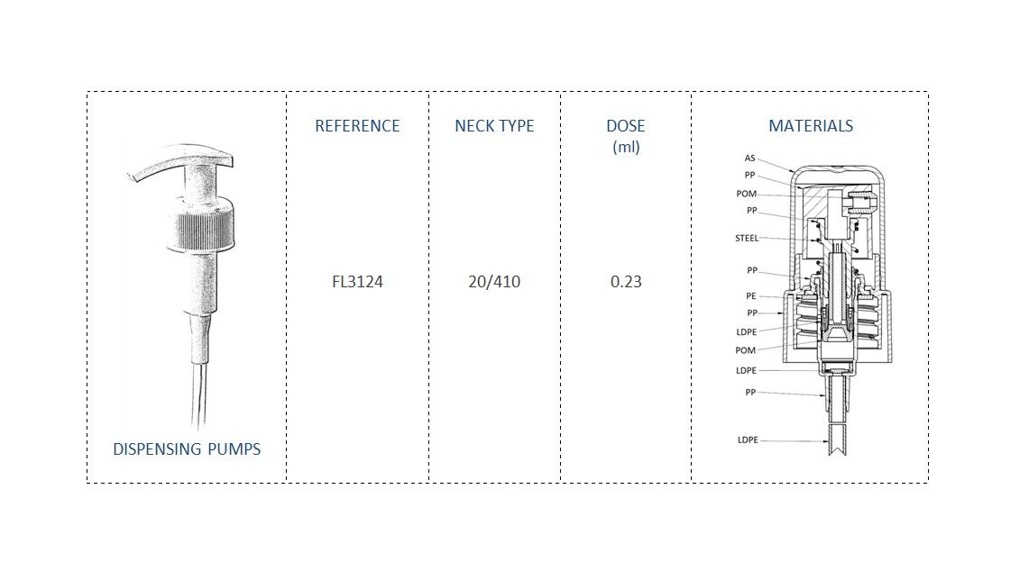 Dispensing Pump FL3124 20/410