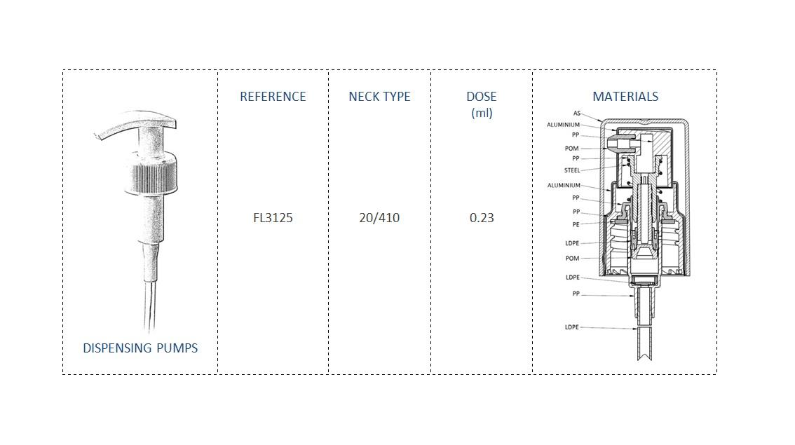 Dispensing Pump FL3125 20/410