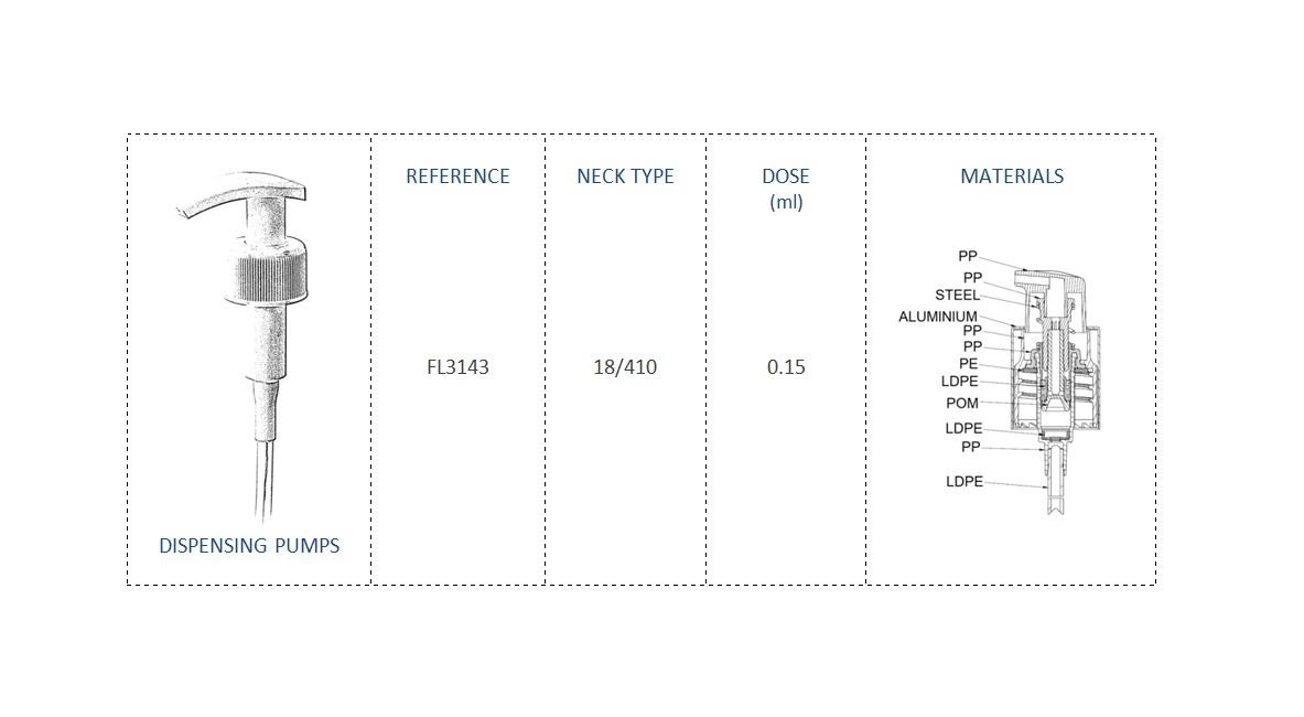 Dispensing Pump FL3143 18/410
