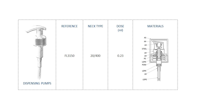 Dispensing Pump FL3150 20/400