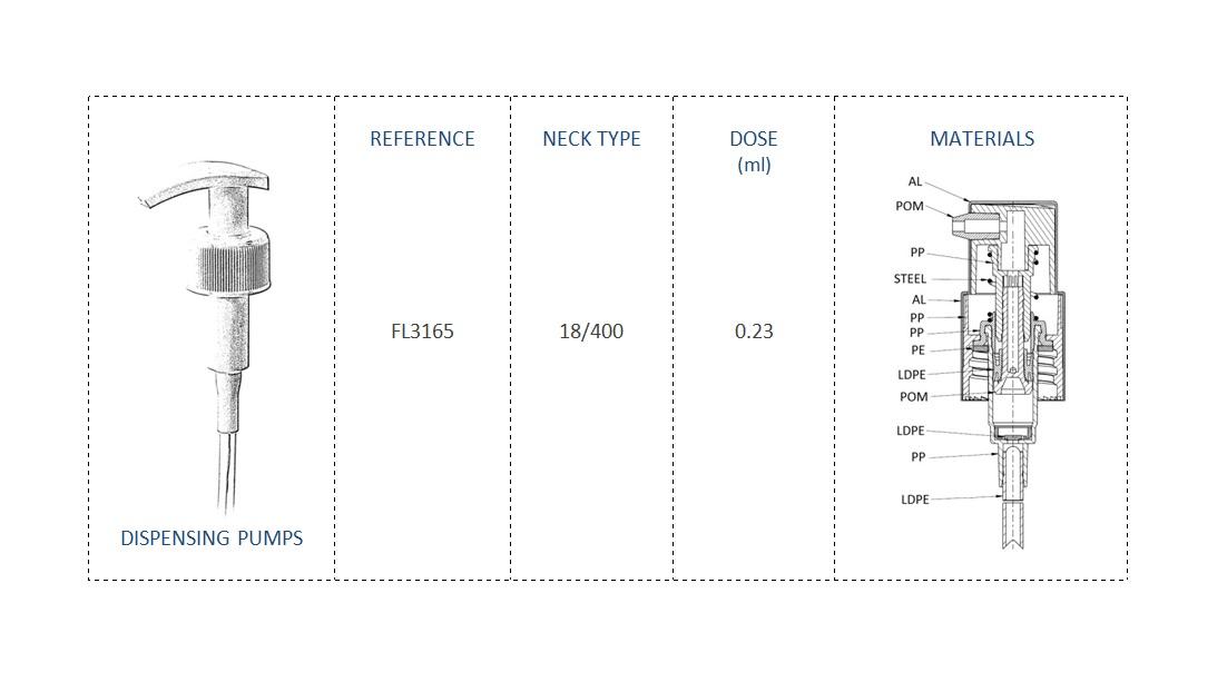 Dispensing Pump FL3165 18-400
