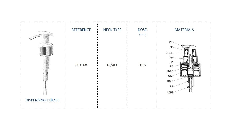 Dispensing Pump FL3168 18-400
