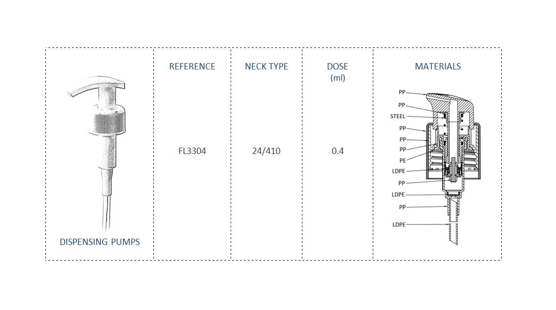 Dispensing Pump FL3304 24-410
