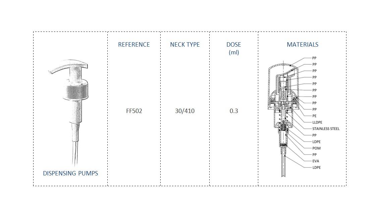 Foam Pump FF502 30-410