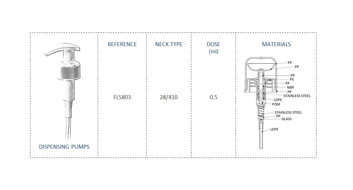 Nails Pump-Micellar Waterr FL5803 28-410