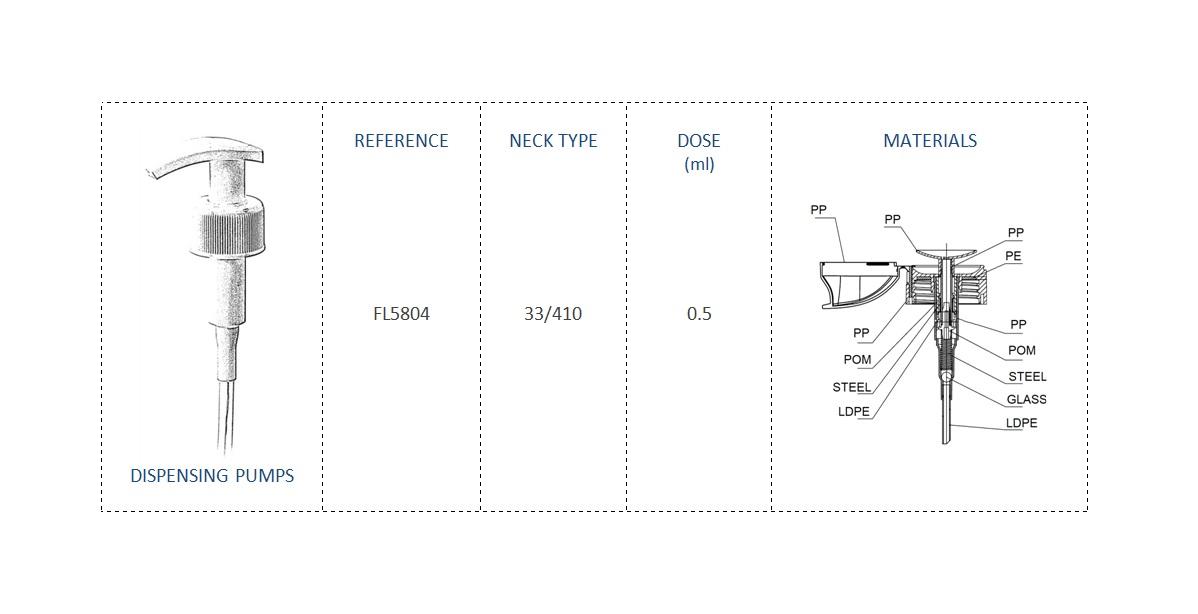 Nails Pump-Micellar Water FL5804 33-410