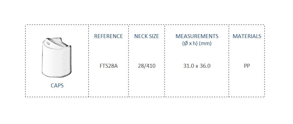 CAp FTS28A 28-410