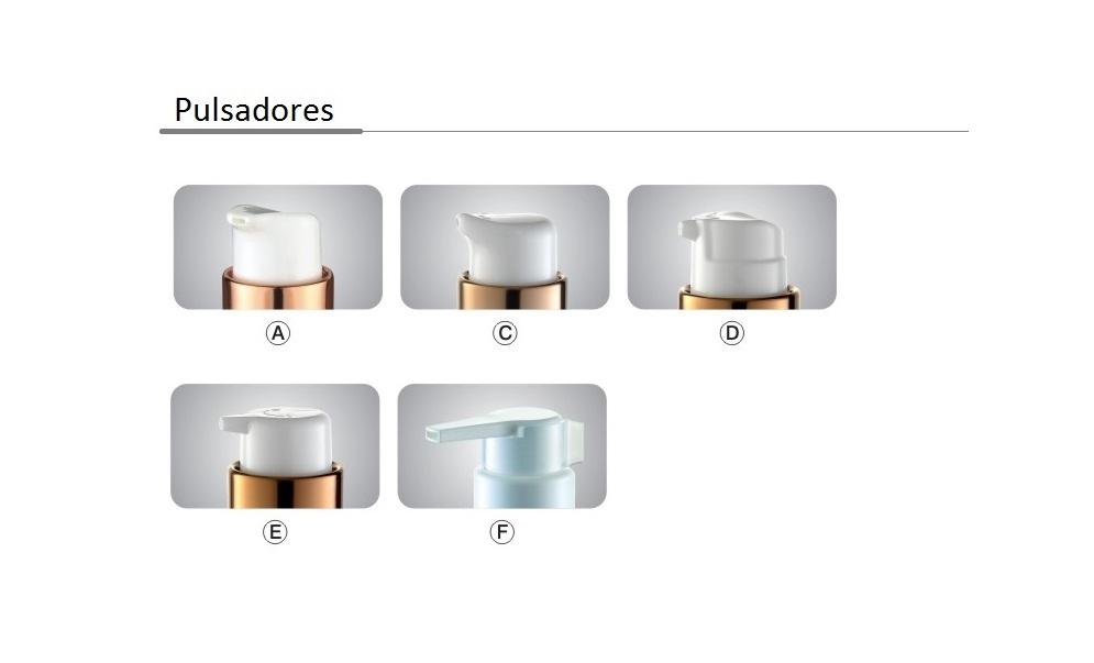 opciones pulsadores FL3301 FL3302 FL3303 FL3304 FL3315 FL3325