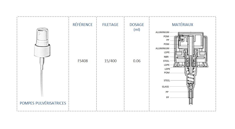 Pompe Pulvérisatrice FS408 15/400