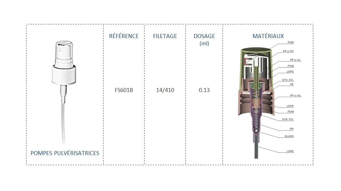 Pompe Pulvérisatrice FS601B 14/410