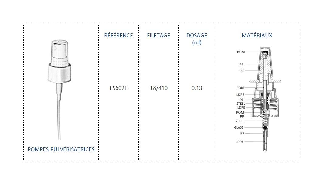Pompe Pulvérisatrice FS602F 18/410