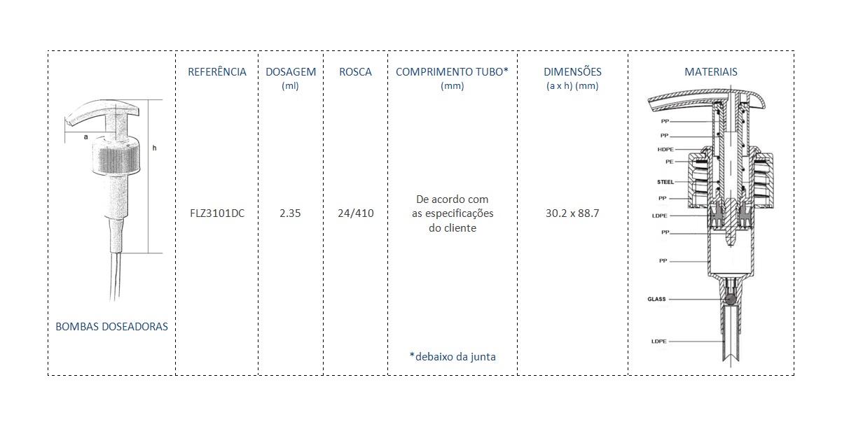 Bomba Doseadora 24/410 FLZ3101DC