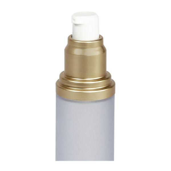 Pulsador airless oro