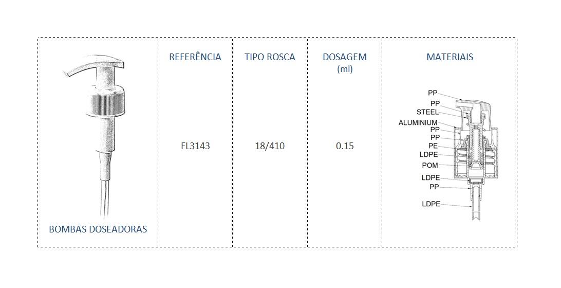 Bomba Doseadora FL3143 18/410
